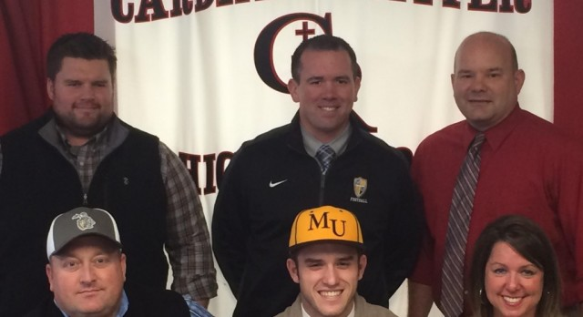 Cardinal Ritter WR / Safety Josh Majors Signs with Marian University