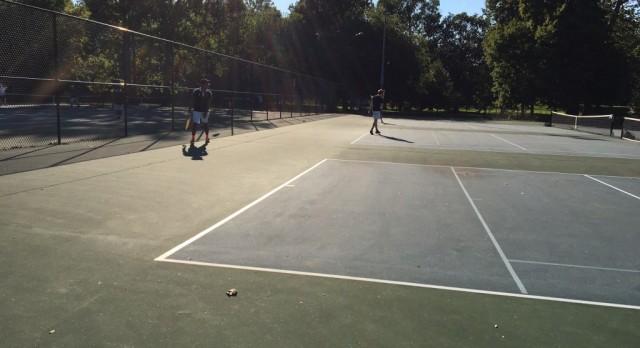 Tennis In City Finals