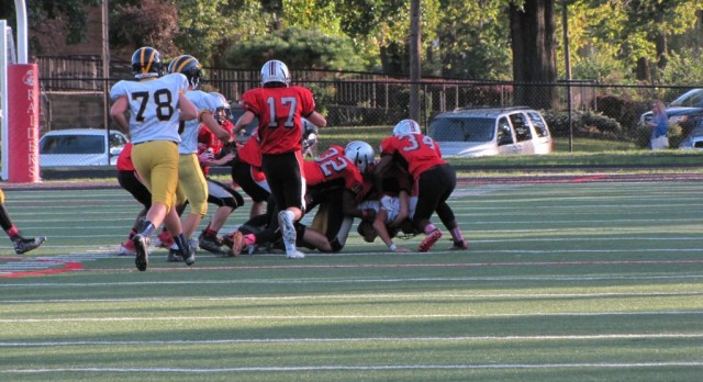 JV Football Finds A Way To Finish