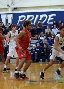Ritter bball vs University Tharran 6