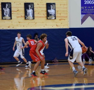 Ritter bball vs University Tharran 8