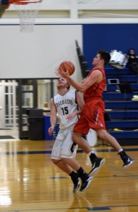 Ritter bball vs University Nate 8