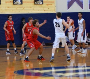 Ritter bball vs University Tharran 3