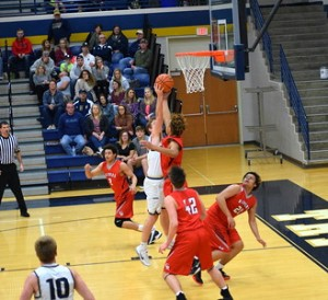 Ritter bball vs Tri West 15-S