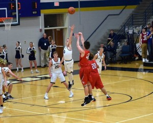 Ritter bball vs Tri West 14-S