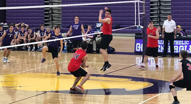 """Boys Volleyball Picks Up Win At """"The Nest"""""""