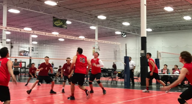 Boys Volleyball Wins Big At Scecina