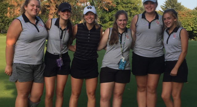 Girls Golf Season Comes To A Close