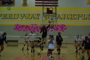 Volleyball Pink out (5)