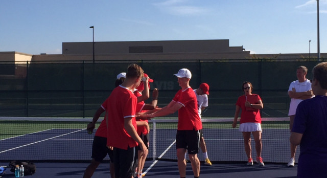Tennis Advances To 2nd Round; Sepe Goes To Regionals