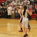 Pirate Posse Represents at Girls Basketball Game!