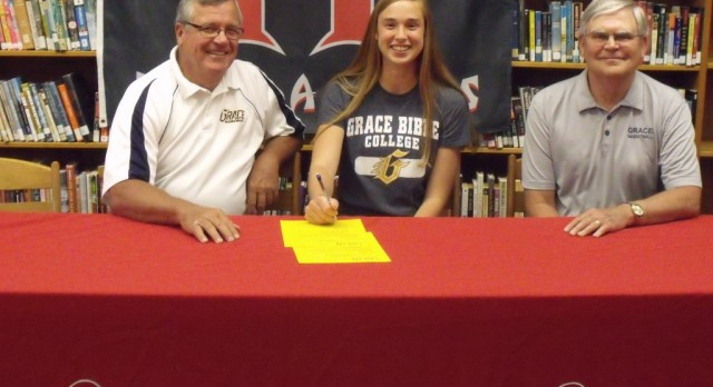 Baylee Draper Commits to Grace Bible College