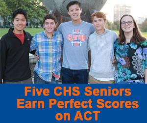 Clayton - 5 CHS Seniors