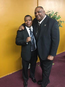 Linwood Ray Barnes and Uncle Jeff Barnes