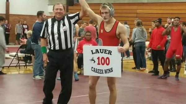 Kolton Lauer 100 wins