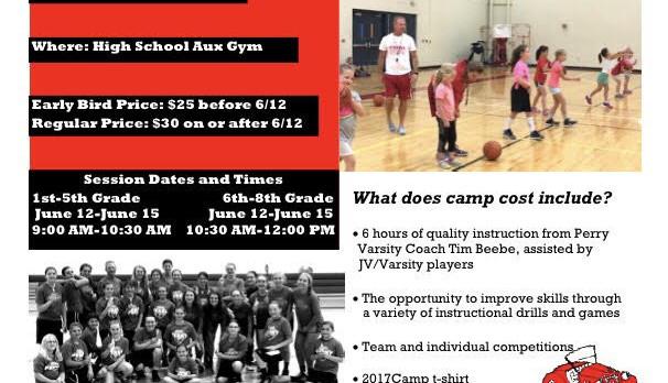 Girls Basketball Summer Youth Camp June 12-15