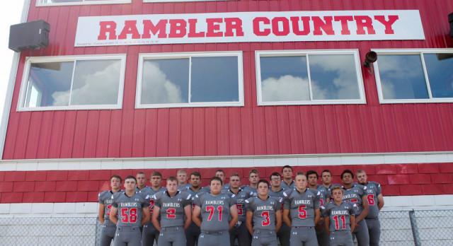 Ready for Rambler Football…..