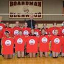 2015-16 Boardman Glenwood 7th Grade Volleyball Team