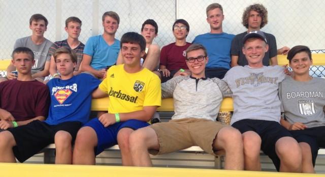 Boardman Boys Soccer Team at Columbus Crew High School Showcase