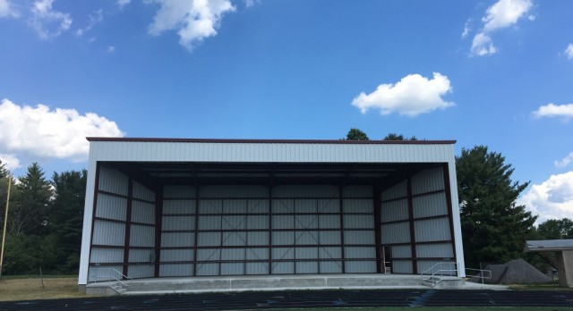 New Spartan Band Shell Dedicated At Tomorrow's Home Football Game