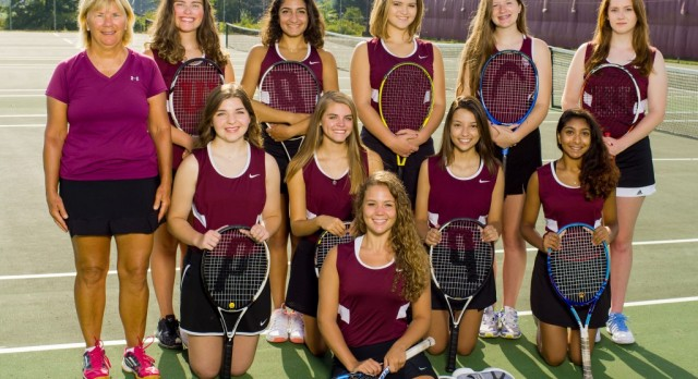 Boardman High School Girls Varsity Tennis beat Austintown Fitch High School 4-1
