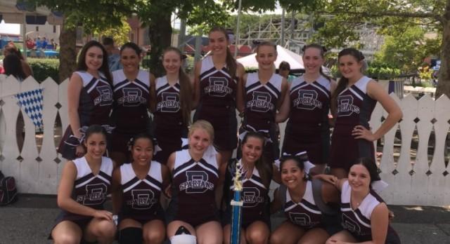 Varsity and JV Cheerleaders Take Runner-up Honors at Kennywood Cheerleading Competition