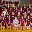 Glenwood Jr. High 8th Grade Maroon and White Volleyball Pictures