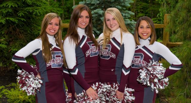 Senior Cheerleaders Honored At Last Home Football Game