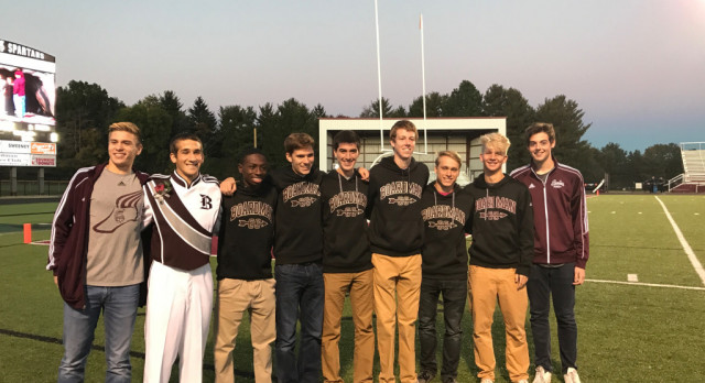 Boys Cross Country Seniors Honored At Last Home Game