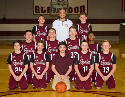 Glenwood Boys 8th Grade Maroon Basketball Team Seeded #8, Plays Glenwood White Team Tonight in AAC Tournament Action