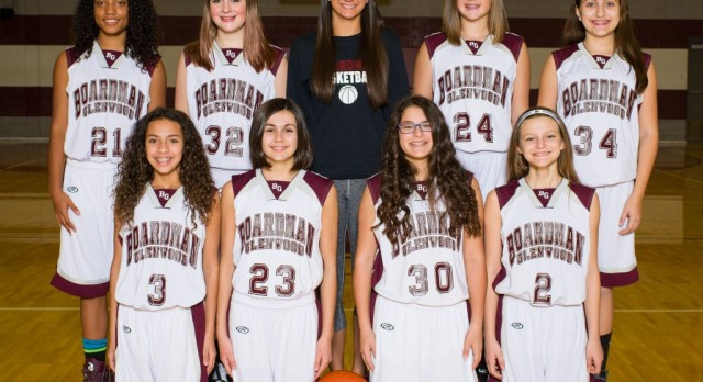 Boardman Glenwood 7th Grade Girls Team Plays Howland Tonight In Second Round of AAC Tournament