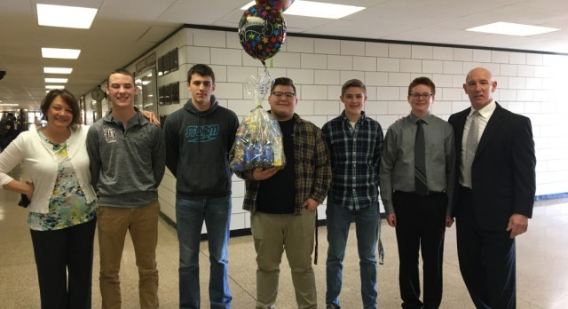 State Send-Off For Boys Bowling Team To The OHSAA State Bowling Tournament