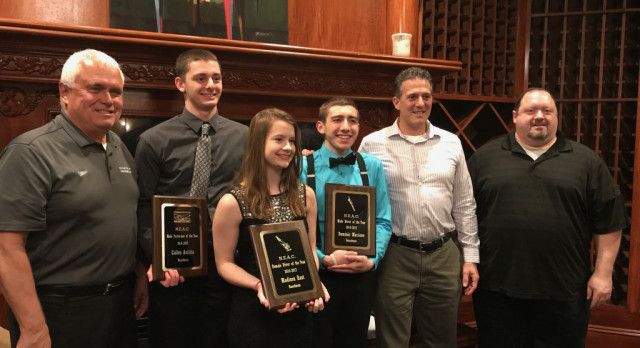 Boardman Swimmers, Divers, and Coaches Receive High NEAC Post-Season Honors