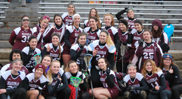 Girls Varsity Lacrosse Team Gets Historic Win Over Poland 13-8 In First Win As A Varsity Sport