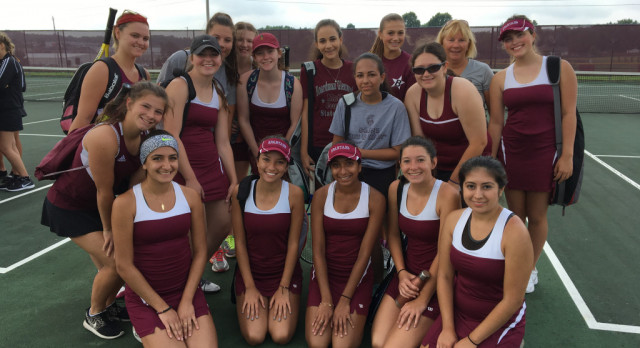 Spartan Girls Tennis Team Opens Up Season Play Against Cuyahoga Falls