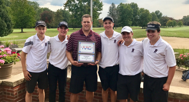 Varsity Boys Golf Team Crowned AAC Champions In The Red Tier For The Fourth Year In A Row