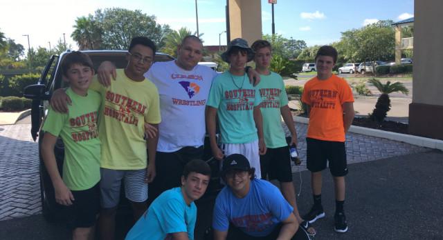 Socastee Wrestling Returns From Camp