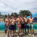 Braves Football Team Cools Off