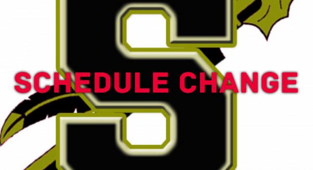Football Practice/Scrimmage schedule Change