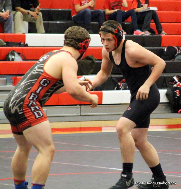 Jefferson Area High School - Varsity Wrestling at Girard Duals - Jefferson Area Falcons ...
