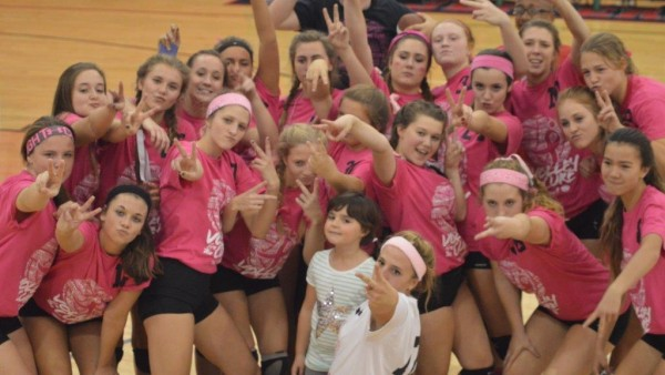 Volley for Cure 1041