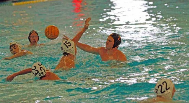 Grand Haven High School Boys Varsity Water Polo ties ShootOut Tournament 0-0
