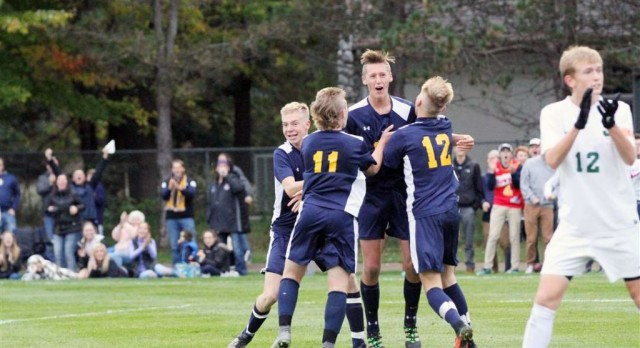 Grand Haven soccer blanks Jenison to advance to D1 district finals