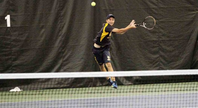 Grand Haven boys tennis team impresses at Division 1 regional