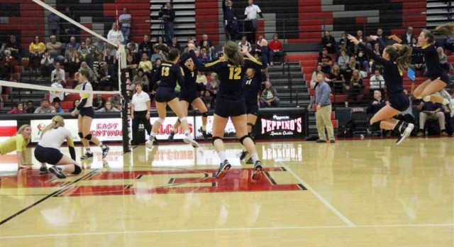 Grand Haven volleyball sweeps EGR, advances to face rival Rockford in regional final