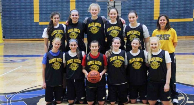 Grand Haven girls tip off season with impressive road win