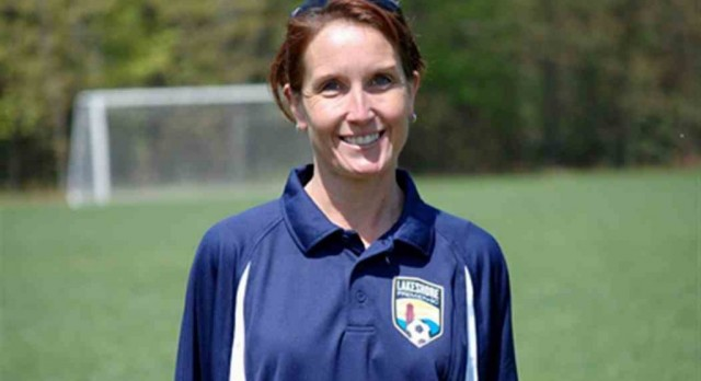 Grand Haven's New Soccer Coach Yvonne McKessy