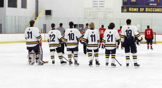 Haven Hockey Falls to Byron Center