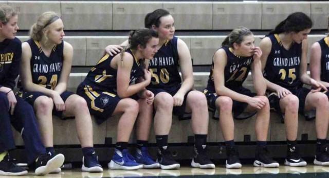 Emotional End for Girls Basketball