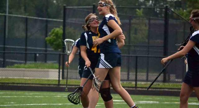 GH Girls Lacrosse Beats Hudsonville